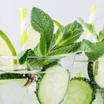 Cocktail Night! Cucumber-Mint Wine Fizz
