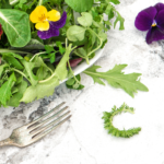 How to Use Wild Greens and Flowers to Dress Up a Salad