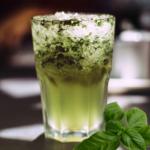 Pear Basil Cocktail