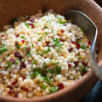 Rose & Dried Fruit Couscous