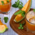 Cantaloupe Mint Agua Fresca